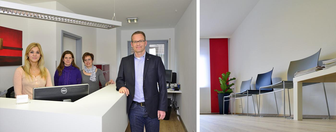 Praxis Dr. Lanczik Mannheim Theke Innenansicht